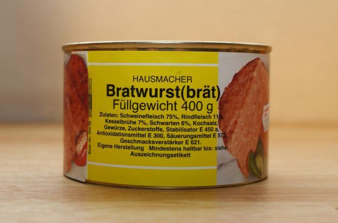 fränkische hausmacher Bratwurst